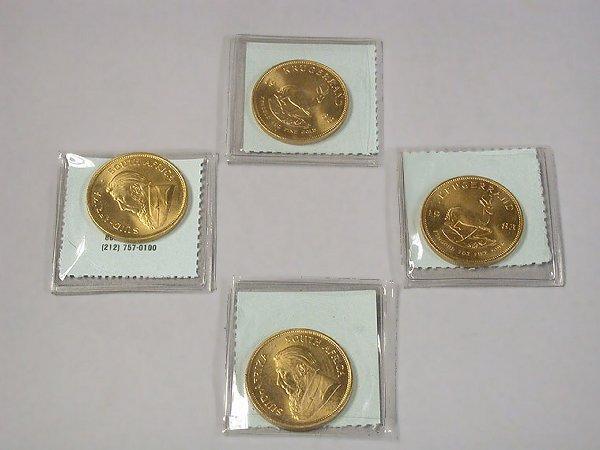 4004B: Four Gold Krugerrands
