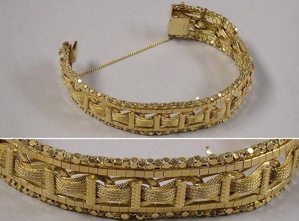4005A: Gold Bracelet