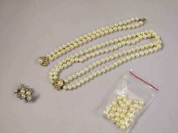 4010B: Group of Assorted Cultured Pearl Jewelry