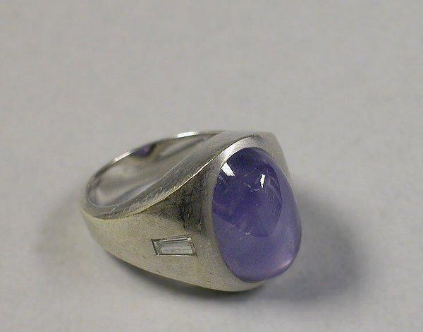 4010E: Gentleman's Sapphire Ring