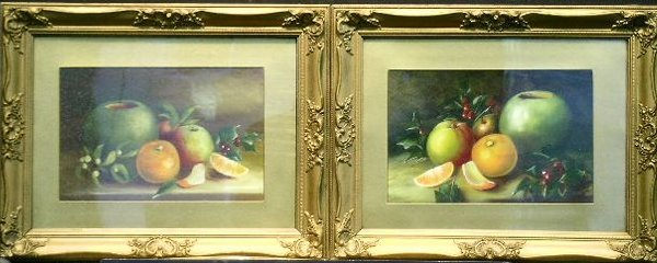 5001: 20th Century School STILL LIFES WITH FRUIT AND HO