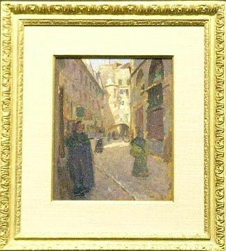 5003: American School Early 20th century PARISIAN STREE