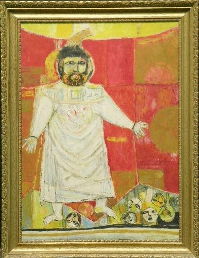 5010: Schmuel Boneh Israeli, b.1930 THE VISION OF EZEKI