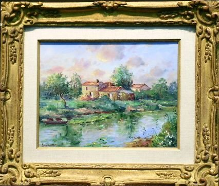 5012: Jean Francois Bourgeat French, 20th century MARAI
