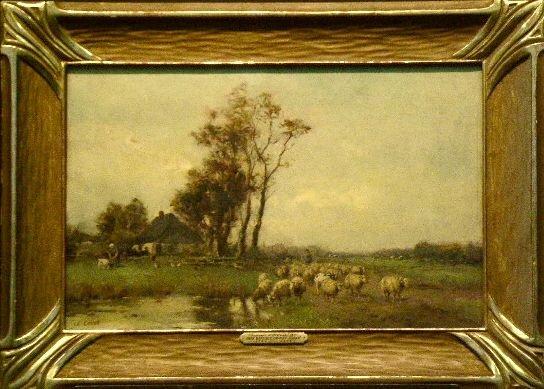 5023: After Jean Baptiste Camille Corot SOUVENIR D'HOLL