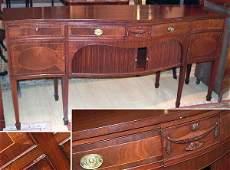5313: Georgian Style Mahogany Sideboard Schmeig &
