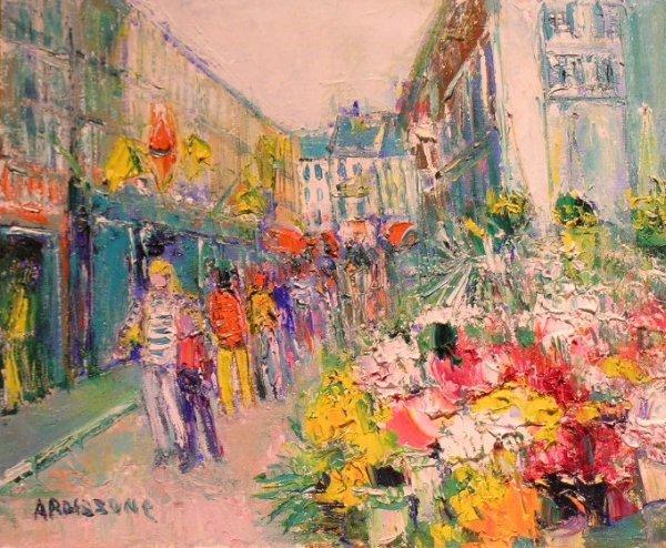 1005: Yolande Ardissone French, b.1927 RUE A HONFLEUR