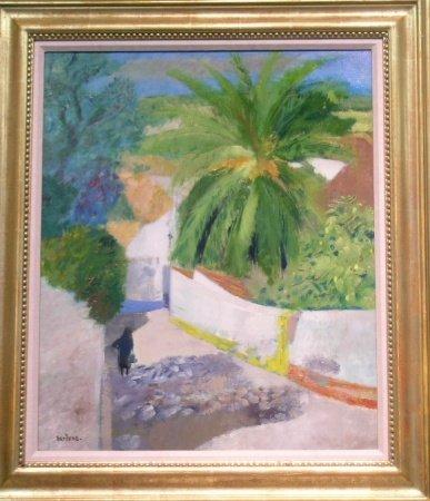 1007: Guy Bardone French, b.1927 CHEMIN AU PALMIER-OBID