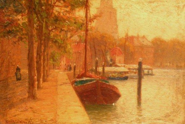 1009: Evelyn M. Bicknell American, 1857-1936 DORDRECHT,