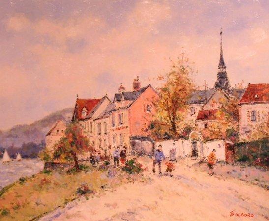 1024: Jean Pierre Dubord French, b.1949 LA SEINE