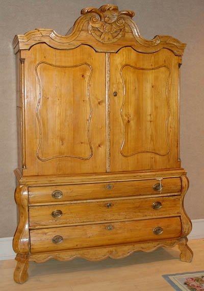 1312: Dutch Baroque Pine Kas