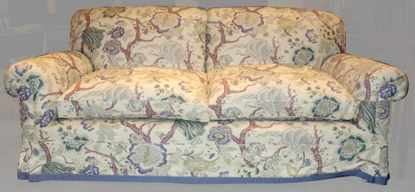 1401: Upholstered Two-Seat Sofa