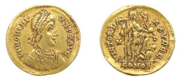 2002: ROME: 1 Solidus, FR. #904