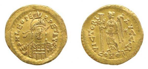 2003: BYZANTINE EMPIRE: 1 Solidus, FR. #433