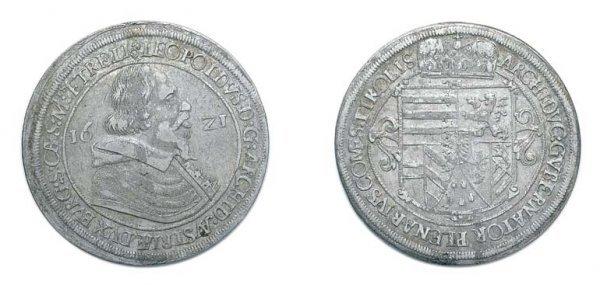 2008: AUSTRIA: Hall Mint, 1621, 1 Thaler, KM. #802