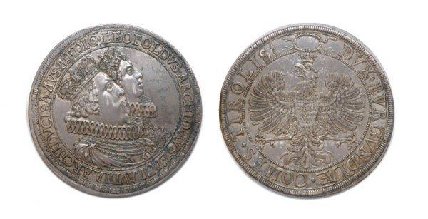 2011: AUSTRIA: 1626, Hall Mint, 2 Thalers, KM. #808, Da