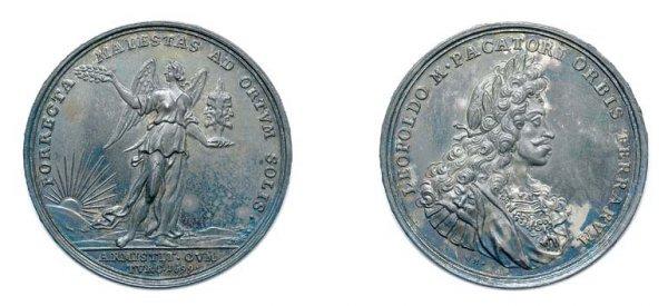 2014: AUSTRIA: 1699 ND, Silver Commemorative Medal