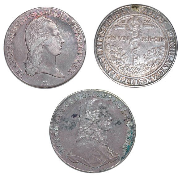 2020: AUSTRIA: Approximately Thirty Silver Coins, 1600