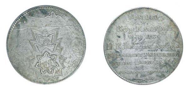 2021: BELGIUM: Liege, 1676, Commemorative Thaler