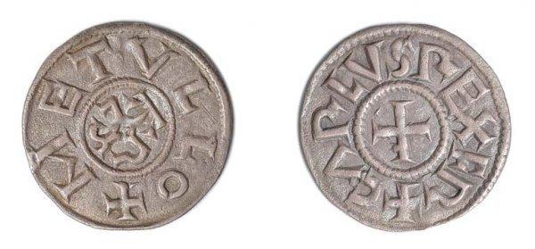 2024: FRANCE: 774 to 814 A.D., 1 Denier