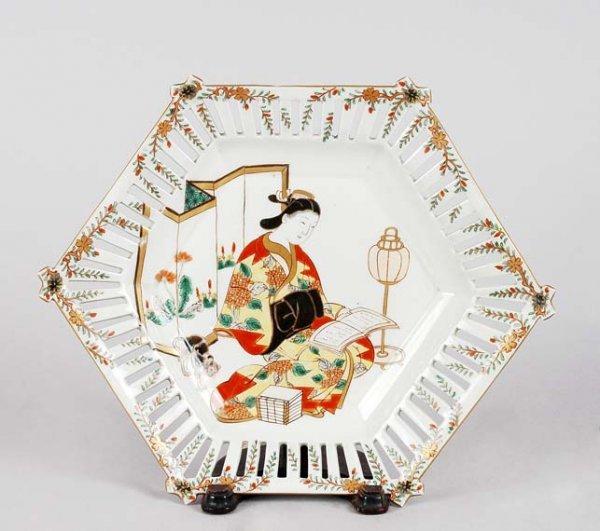3014: Japanese Imari Porcelain Dish