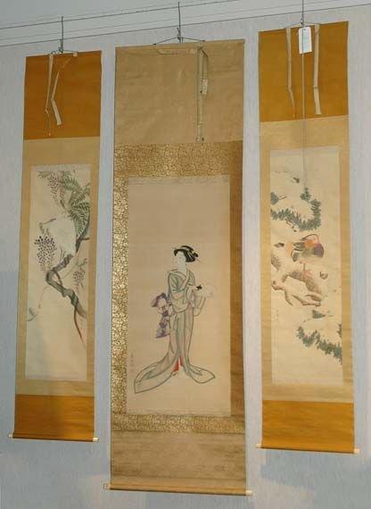 3019: Japanese School hanging scrolls