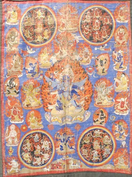 3022: Tibetan Bardo Thanka