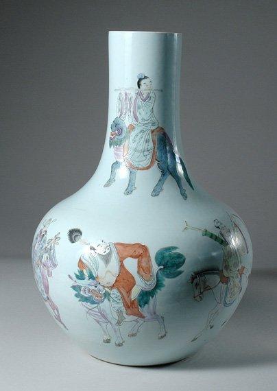 3250: Chinese Enameled Porcelain Vase
