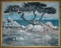 4002: Studio of Lee Reynolds CYPRESS TREE, CALIFORNIA