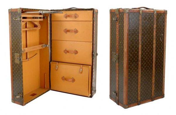 398: Louis Vuitton Wardrobe Trunk