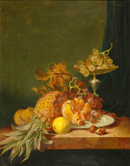 2012: R.W. Warwick British, 19th century STILL LIFE WIT