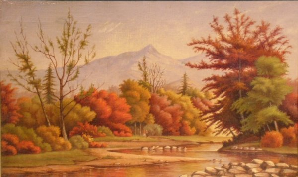2024: G. Currier American, 19th century AUTUMN ON ESOPU