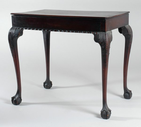 2224: Chippendale Mahogany Tea Table