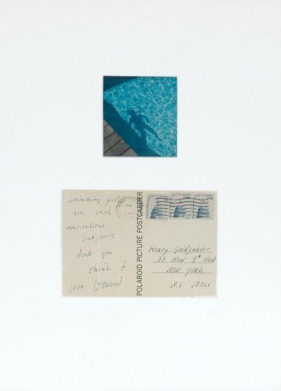 3002: HOCKNEY, DAVID Autograph postcard