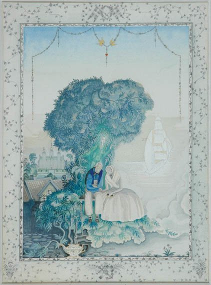 3007: NIELSEN, KAY Original drawing in watercolor, ink,