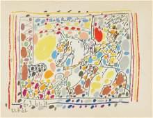 3251: Pablo Picasso LE PICADOR II Color lithograph