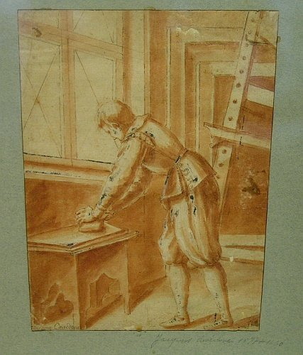 3: Attributed to Giacomo Cavedone ARTIST'S ASSISTANT IN