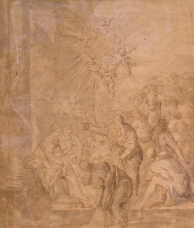 7: Attributed to Valentin Lefebvre THE ADORATION OF THE