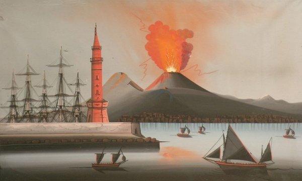 14: Neapolitan School 19th/20th Century THE BAY OF NAPL