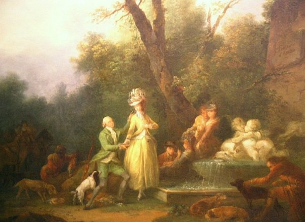18: Jean-Frederic Schall French, 1752-1825 LA FONTAINE