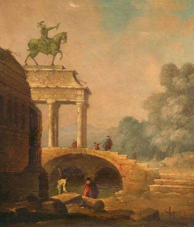 20: Manner of Hubert Robert LES JARDINS, VILLA D'ESTE