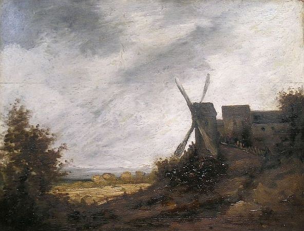 22: Attributed to Georges Michel THE WINDMILL