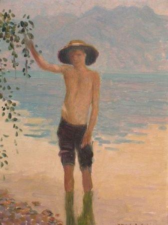 137: Howard Gardiner Cushing American, 1869-1916 BOY WA