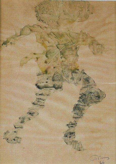 1001: Mark Tobey American, 1890-1976 DANCER, 1966