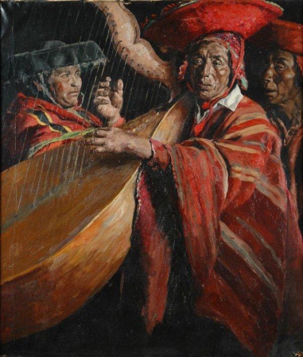 1017: Bernardo Simonet Castro Spanish, b.1914 SOUTHWEST