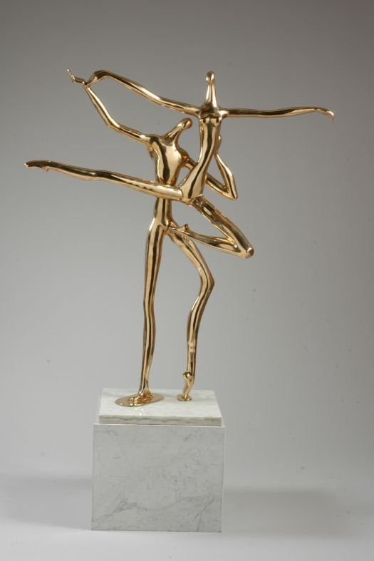 1020: Manuel Carbonell Cuban, b.1918 TWO DANCERS