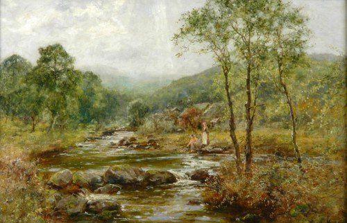 1078: Henry John Yeend King British, 1855-1924 RIVER LA