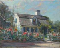 1274 Emile Albert Gruppe 18961978 THE OLD LEE HOUSE