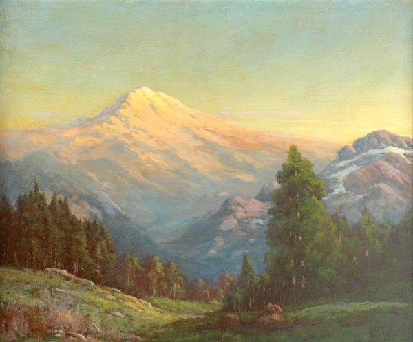 1305: Robert William Wood 1889-1979 MOUNT RAINIER