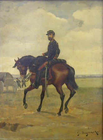 2005: Gustave Mardoche Neymark French, b.1850 MOUNTED S